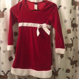 Santa dress size 7/8